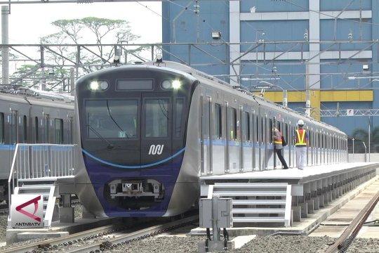 Presiden Pastikan MRT Jakarta siap beroperasi Maret 2019