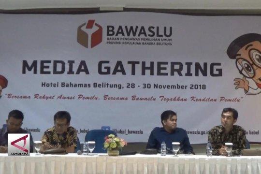 Sinergi Bawaslu jurnalis kawal pesta demokrasi