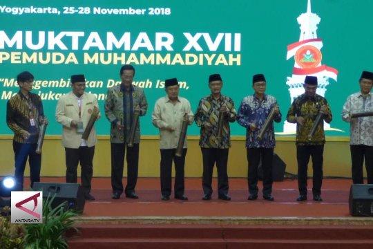 Wapres Jk buka Muktamar pemuda Muhammadiyah XVII