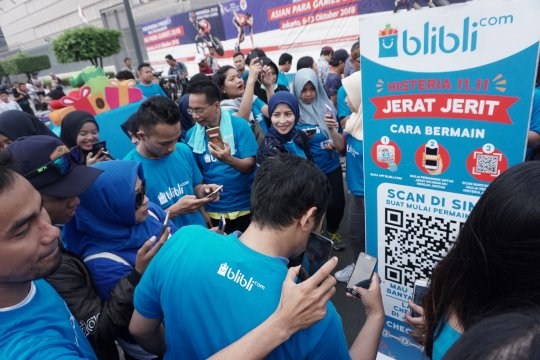 Blibli Histeria tawarkan berbelanja dengan teknologi Augmented Bli