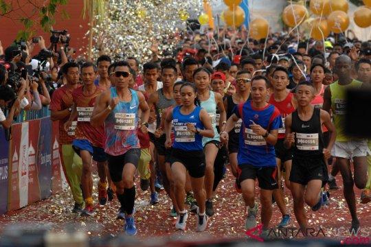 Pelari Kenya dominasi  Borobudur marathon 2018