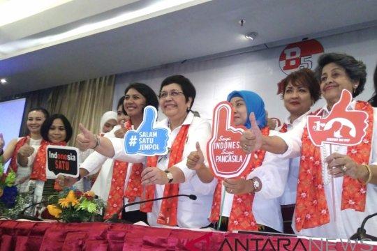 Perempuan Bravo-5 siap kampanyekan Jokowi-Ma'ruf dari pintu ke pintu