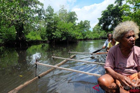 Mencicip buah aibon, sumber karbohidrat dari Tanah Papua