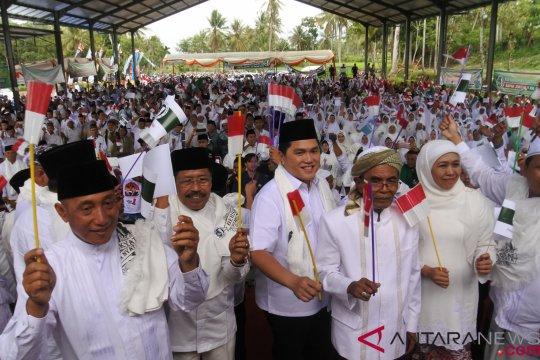 Di Kediri, Kiai dan santri deklarasi dukungan untuk Jokowi-Ma'ruf
