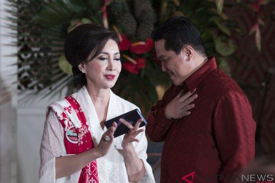 Erick Thohir minta perempuan Pertiwi sapa masyarakat