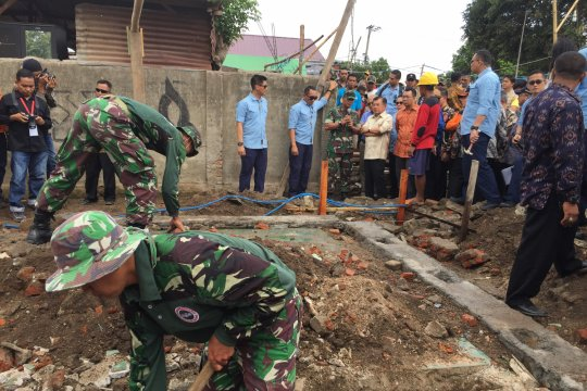 Wapres tinjau rekonstruksi dan rehabilitasi di Lombok