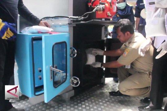 Bnnp Jateng musnahkan sabu 2,1 kg dengan mesin incinerator