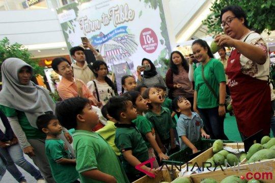 AEON bersama kementerian edukasi konsumsi buah-sayur