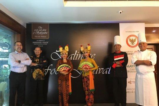 Ragam kuliner Bali tersaji di festival di India