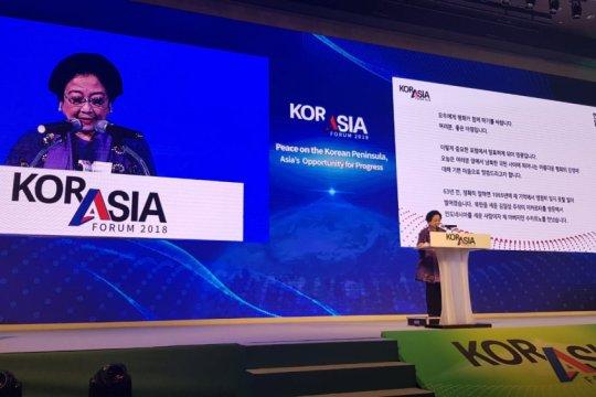 Megawati ajak seluruh negara Asia sokong reunifikasi dua Korea