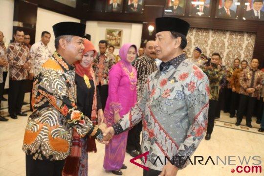 Wiranto lantik Achmad Taufieqoerrochman sebagai Kepala Bakamla