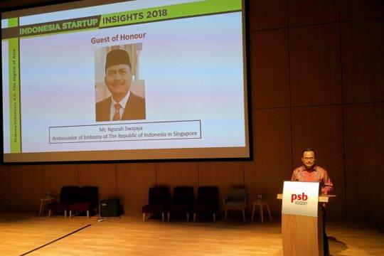 Dubes Ngurah dorong pengembangan kerja sama Startups Indonesia-Singapura