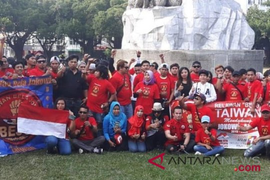 Buruh migran dan WNI di Taiwan deklarasi menangkan Jokowi-Ma'ruf