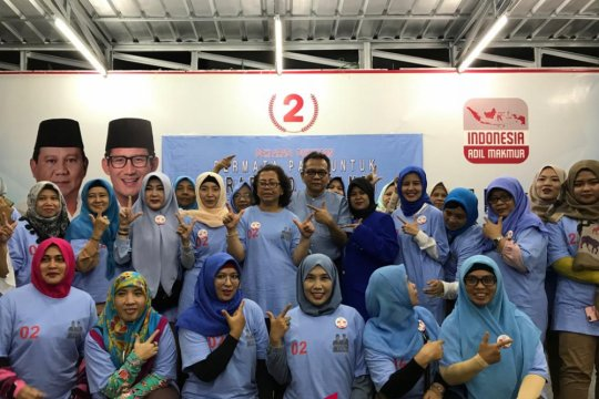 Permata PADI Mendukung Prabowo-Sandiaga