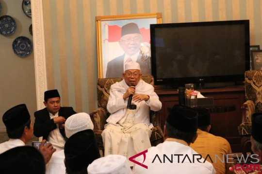 Ma'ruf Amin berdoa bangsa Indonesia dihindarkan dari segala bencana