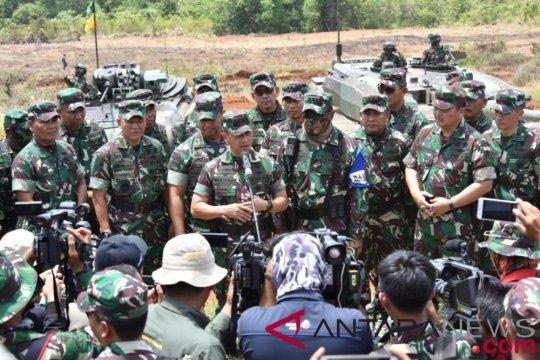 TNI AD tingkatkan akumulasi kemampuan tempur