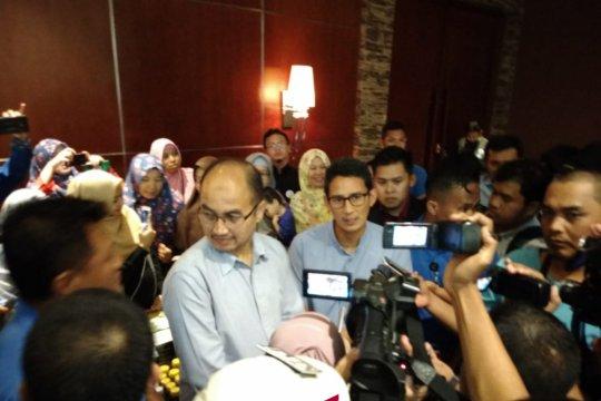 Sandiaga bertemu cawagub penggantinya dari PKS