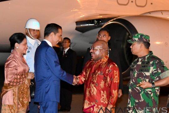 Presiden resmikan Kapsul Waktu di Merauke