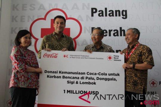 Coca-Cola serahkan bantuan melalui IFRC dan PMI