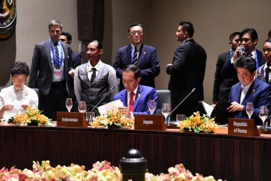 Presiden sampaikan prioritas pengurangan ketimpangan di KTT APEC