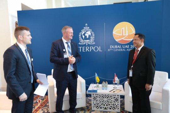 Polri-Kepolisian Ukraina tingkatkan kerja sama keamanan siber