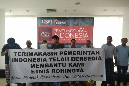 Pengungsi Rohingya ucapkan terima kasih kepada Indonesia