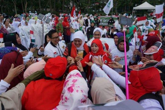 Khofifah deklarasikan dukungan Jokowi-Ma'ruf di Hong Kong