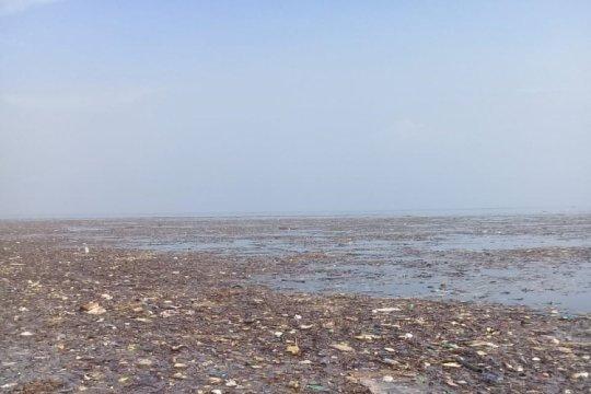 Pulau Pari tercemar sampah kiriman