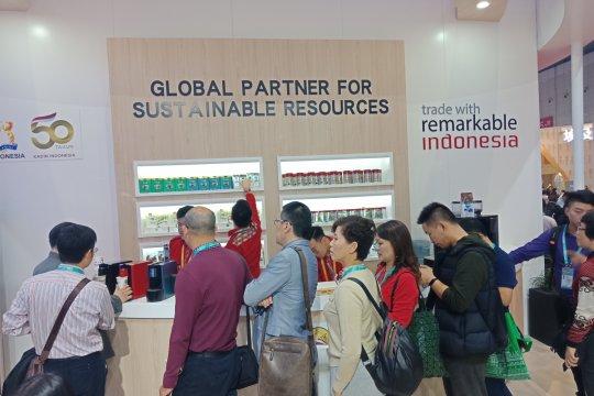 Paviliun Indonesia di China tarik pengunjung dengan kopi