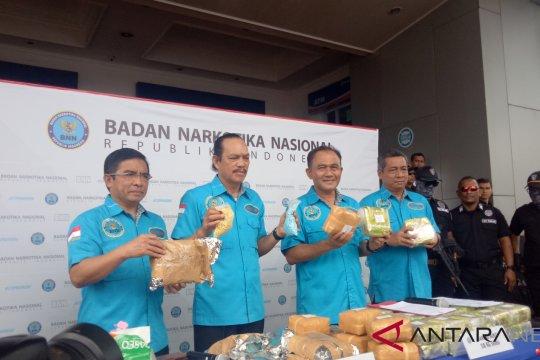 BNN amankan kembali empat tersangka jaringan Ibrahim