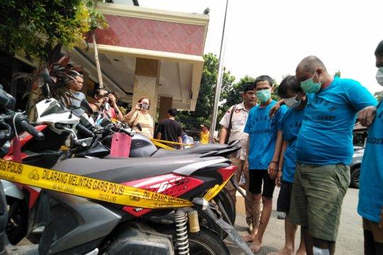 Polisi ungkap komplotan pencuri kendaraan bermotor libatkan anak