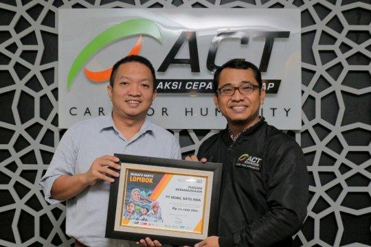 Mobil Satu Asia gandeng ACT serahkan donasi bencana
