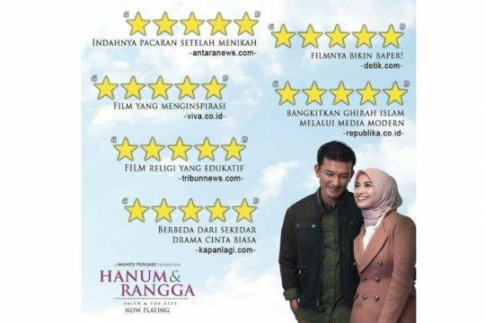 """MD Pictures bantah bikin rating palsu film """"Hanum & Rangga"""""""