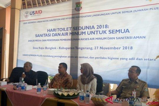 Pemerintah tingkatkan akses  sanitasi Desa Kayu Bongkok