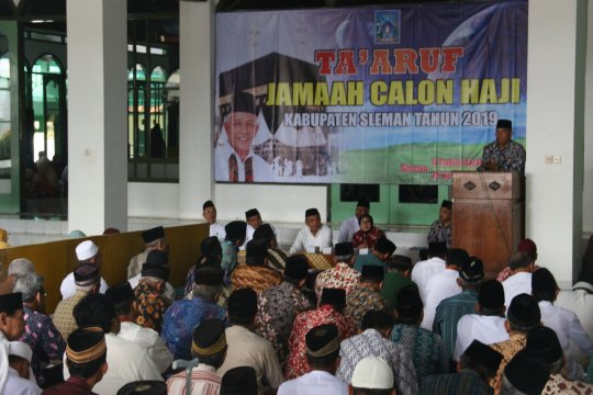 Jamaah calon haji Sleman diberangkatkan awal Juli 2019