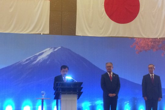 HUT Kaisar dan 60 Tahun Hubungan Diplomatik jadi momentum perkuat kerja sama Jepang-Indonesia