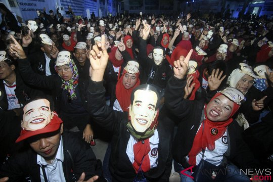 Relawan Bogor berikrar menangkan Jokowi-Ma'ruf