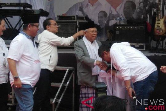 Ma'ruf Amin berharap santri bisa jadi presiden