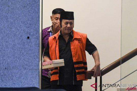 Penahanan Zainudin Hasan dipindahkan ke Lampung