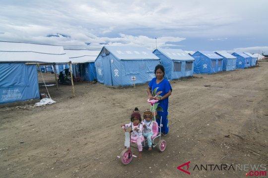 Di pengungsian, korban likuifaksi Petobo kesulitan air