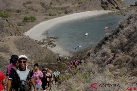 Kunjungan Wisatawan Pulau Padar NTT