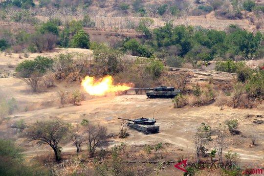 Latihan Bersama TNI AD - SAF