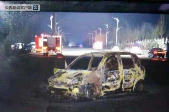 truk pengangkut kimia meledak tewaskan 23 orang