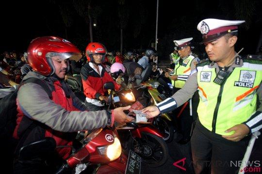 Polisi tangani 2.000 pelanggaran lalu lintas