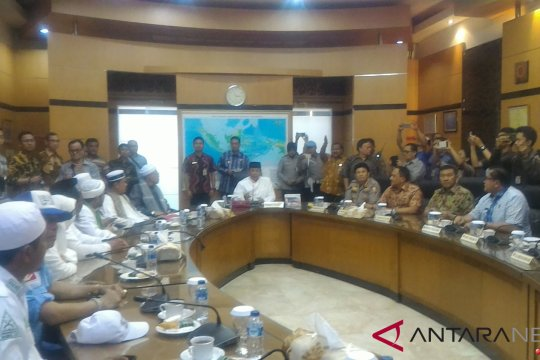 Wiranto temui 10 orang perwakilan Aksi 211