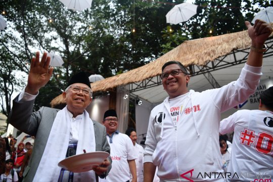 Caleg koalisi tak sosialisasikan Jokowi-Ma'ruf terancam sanksi