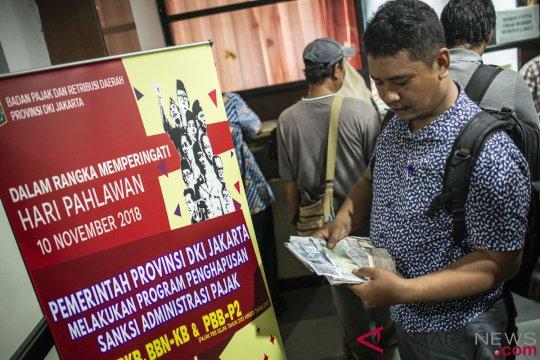 Pemprov hapus sanksi administrasi sembilan jenis pajak di Jakarta