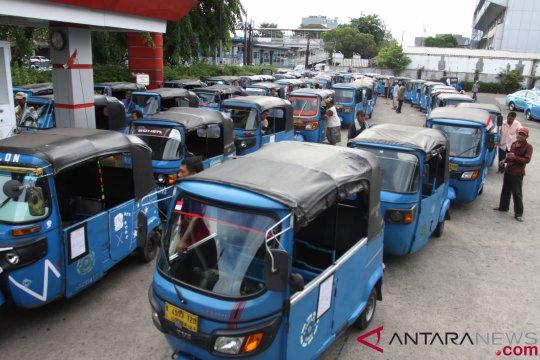 Pemerintah jamin pasokan dan harga gas untuk transportasi Jakarta