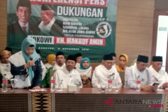 JKSN Jabar targetkan Jokowi-Ma'ruf menang 70 persen