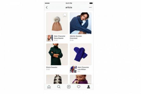 """Seperti Instagram, Facebook uji coba fitur """"Shop"""""""